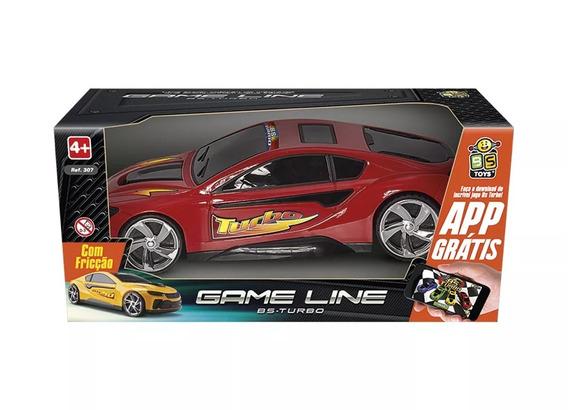 Carrinho Com Fricção Bs Turbo Game Line - Colors - Bs Toys