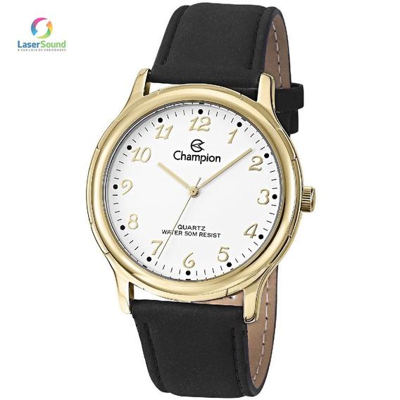 Relógio Champion Unissex Social Cn20033b, C/ Garantia E Nf