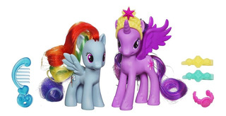 My Little Pony Princesa Twilight Sparkle Y Rainbow Dash