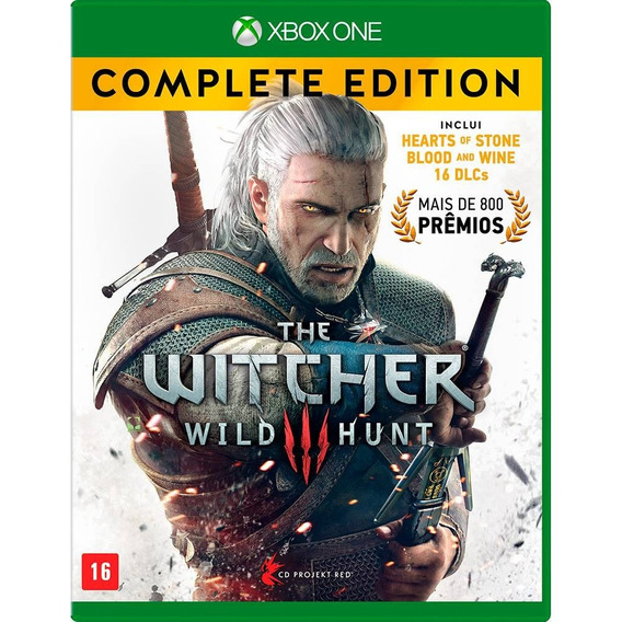 Jogo Xbox One The Witcher 3 Complete Edition (usado)