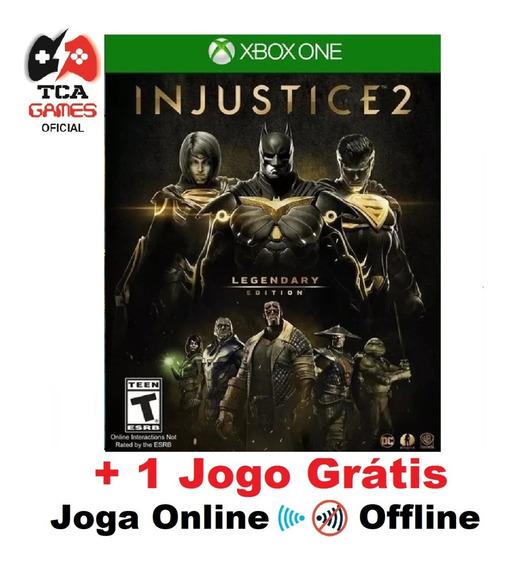 Injustice 2 Legendary Edition Xbox One Mídia Digital