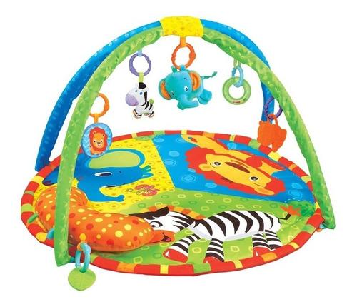 Imagen 1 de 4 de Gimnasio Bebé Felcraft Fitch Baby Zoo 1