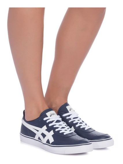 Tênis Asics Onitsuka Tiger Top Spin Leather Couro Natural+nf