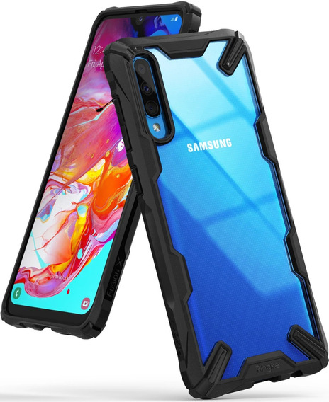 Estuche Forro Original Ringke Fusion Samsung Galaxy A70