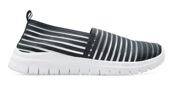 Zapatillas Sport Elastizadas Mujer Lady Stork Livianas Tipo Pancha