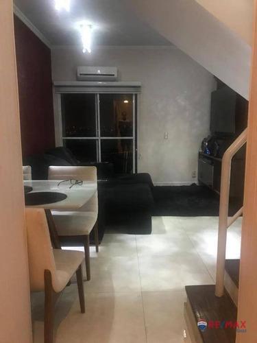 Imagem 1 de 19 de Apartamento Cobertura Duplex Na City America, - Ad0050