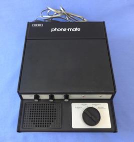 Secretaria Eletronica Phone Mate - Década 70 - Made In Japan