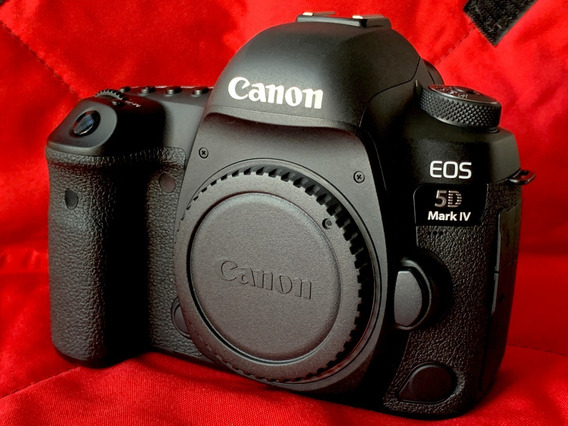Camera Dslr Canon Eos 5d Mark Iv Corpo 12k Clicks
