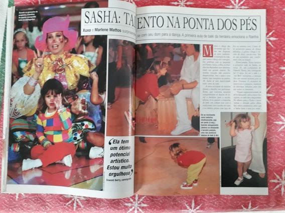 Revista Chique Famosos Sasha Xuxa Sandy Barrichello Ronaldo