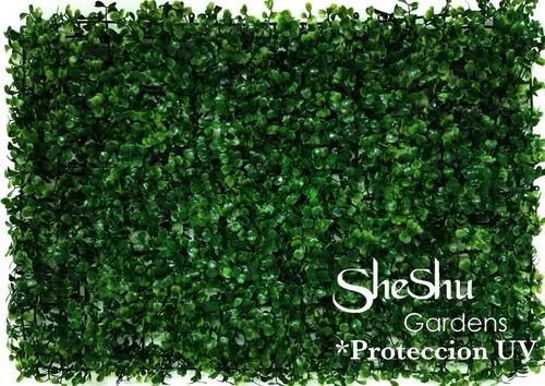 Imagen 1 de 5 de Jardin Vertical Artificial Panel Protecc. Uv X 28  Sheshu