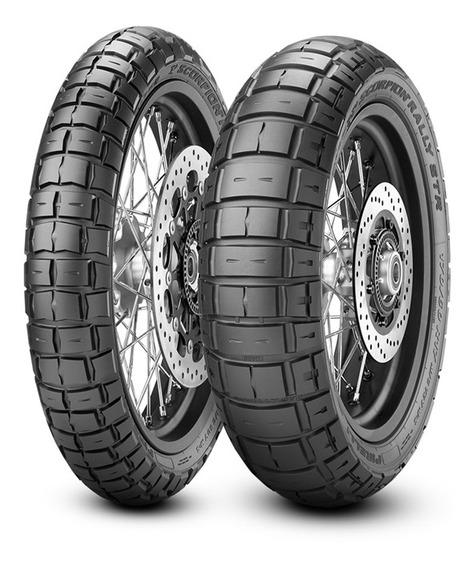 Kit De Pneus 150/70-18 + 90/90-21 Pirelli Scorpion Str Rally