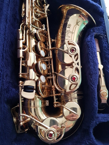 Sax Alto Yamaha Yas875ex Custom, Estojo Original Extra Luxo.