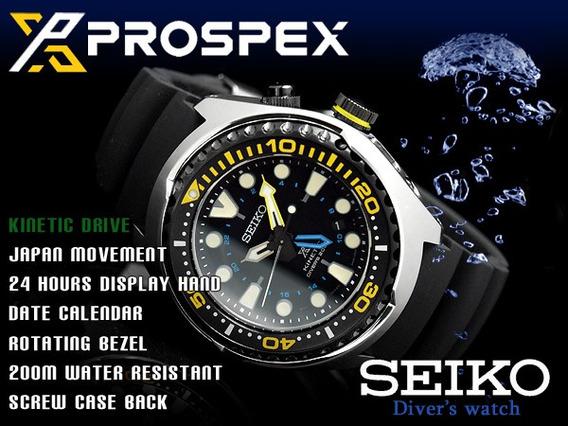 Seiko Diver Prospex Kinetic Gmt 200m Sun021 Sun021p1