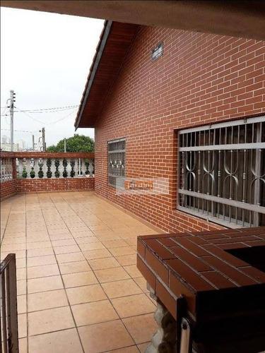 Casa Residencial À Venda, Jardim Calux, São Bernardo Do Campo. - Ca0899