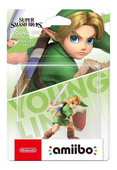 Amiibo Young Link Ultimate Smash Bros Super Legend Of Zelda