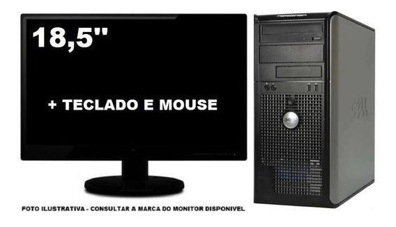 Computador Dell Optiplex 330 Intel Dual Core 4gb 120gb Ssd