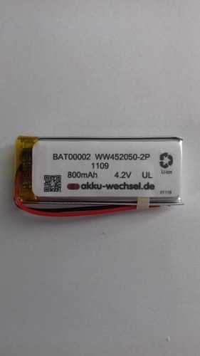 Bateria Intercomunicador Scala Rider G4 G9 C/plug Conector