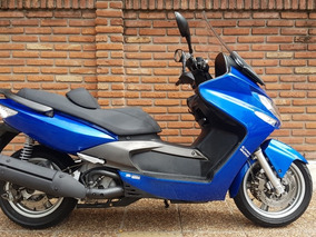 Kymco Xciting 500 Azul Permuto Financio Con Dni Qr Motors