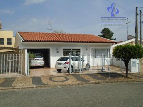 Casa Residencial À Venda, Vila Nova Valinhos, Valinhos. - Ca1543