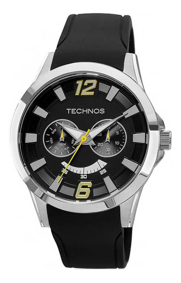 Relógio Masculino Technos 6p25al8y Borracha