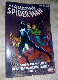 Libro Comic Marvel The Amazing Spider-man Traje Alienigena