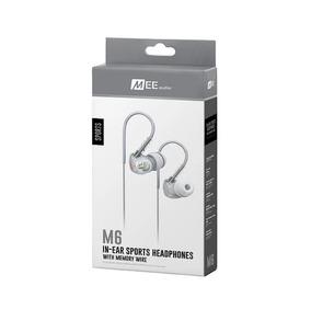 Fone In-ear Mee Audio M6 Sport-fi Branco Resistente A Água