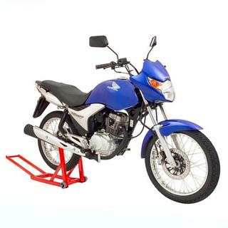 Cavalete P/ Suspensão Traseira De Moto Cg 125 Titan Biz Fan