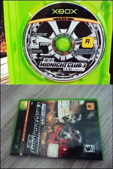 Midnight Club 3 Dub Edition Completo E Novo Xbox Clássico