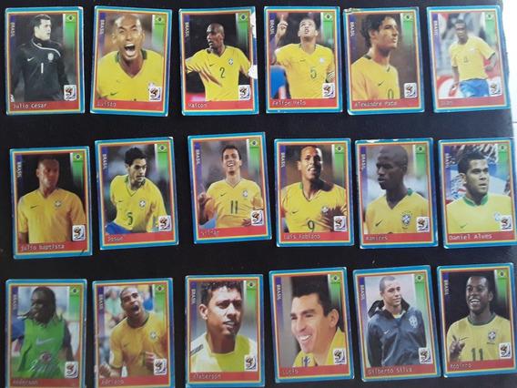 Cards Da Seleção Brasileira Na Copa Do Mundo De 2010