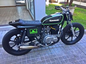 Kawasaki Kz440 1980 Motor Nuevo Flat Tracker Cafe Racer