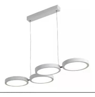 Lámpara Inteligente Carolina Smart 4 Anillos Led