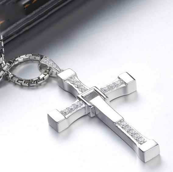 Colar Dominic Toretto Velozes E Furiosos Crucifixo Original