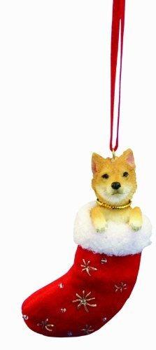 Shiba Inu Calcetin De Navidad Ornamento Con Pequeños Amulet