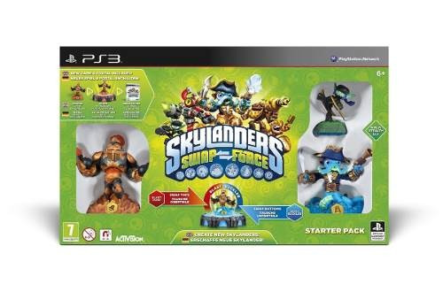 Box Novo Lacrado Skylanders Swap Force Starter Pack Play Ps3