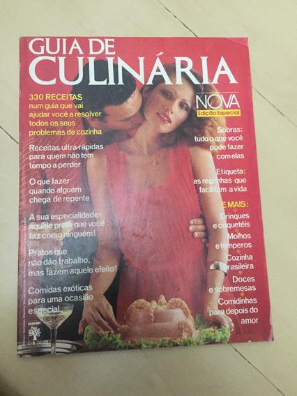 Revista Guia De Culinária 42 Receitas Drinques Doces Z395