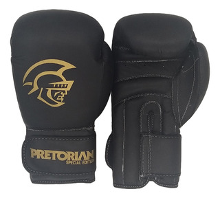 Luva De Boxe/muay Thai Pretorian Pro Special Ed. Black 16oz