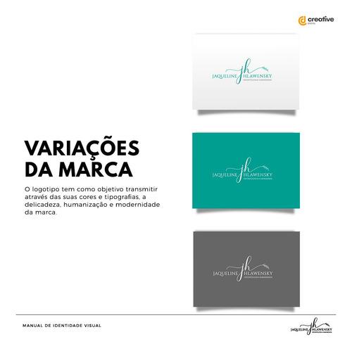 Imagem 1 de 8 de Logo Logotipo Marca + Identidade Visual Completa Premium