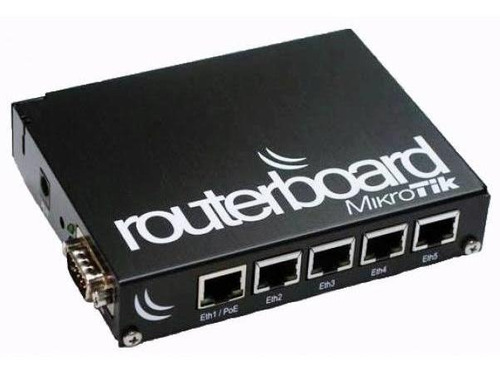 5 Un - Mikrotik Rb433 Com Placa Wireless E Pigtails