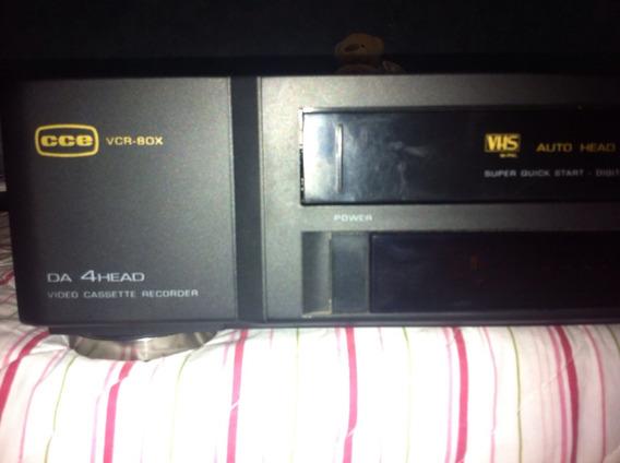 Video Cassete 4 Cabeças Cce Vcr 80 X
