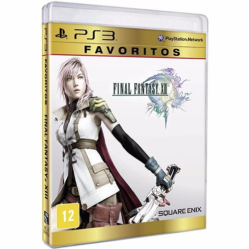 Jogo Final Fantasy Xiii (playstation 3)