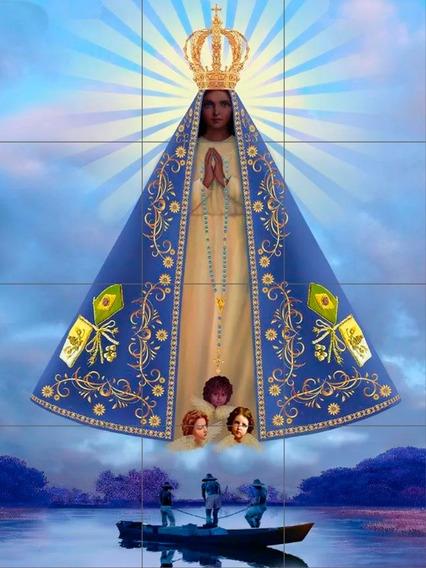 Mosaico C/12 Azulejo Nossa Senhora Aparecida 60x80 C (a.322)