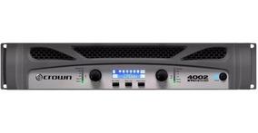 Amplificador Potência Crown Xti 4002 3200 Rms Gxti Nfe Gar