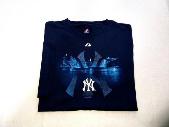 Playera Majestic Beisbol Yankees Ny