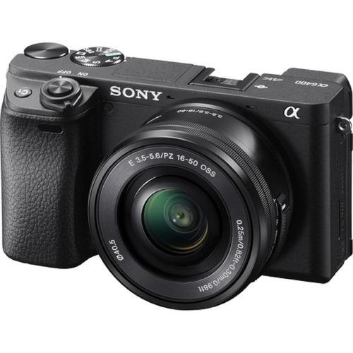 Câmera Sony Mirrorless Alpha A6400 + 16-50mm Garantia Novo