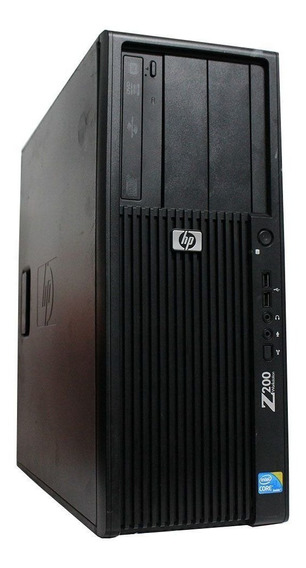 Computador Workstation Hp Z200 I3 4gb 240ssd