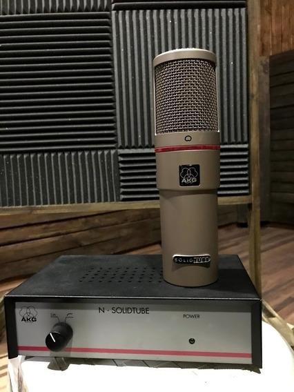 Microfone Akg Solid Tube Vauvulado