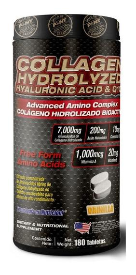 Colágeno, Ácido Hialurónico Y Q10 180 Tabletas Masticables