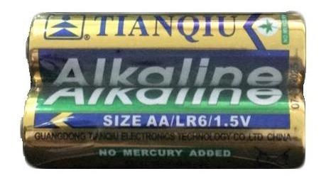 Pila Batería Tianqiu Alcalina Aa  Caja 40 Und (20x2)