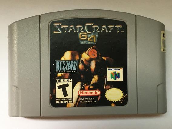 Star Craft Original Nintendo 64 N64 + Garantia