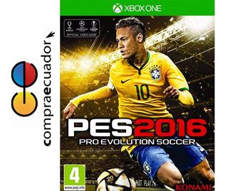 Pes 2016 Xbox One Pro Evolution Soccer 2016 Pes16 Disco Fisi